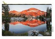 Lower Ottoway Lake Sunset - Yosemite Carry-all Pouch