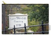 Lower White Hills Cemetery Carry-all Pouch