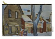 Lowertown Scene No. 2 Carry-all Pouch