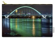 Lowry Bridge In St. Patrick's Day Green Carry-all Pouch