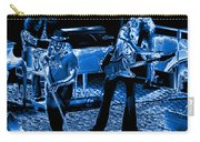 Ls #40 Enhanced In Blue Carry-all Pouch