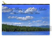 Luby Bay On Priest Lake Carry-all Pouch