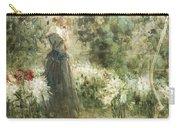 Luca Postiglione Napoli 1876 - 1936 The White Fleurs-de-lis Carry-all Pouch