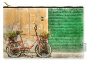 Lucca Italy Bike Watercolor Carry-all Pouch