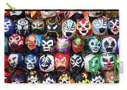 Lucha Libre Wrestling Masks Carry-all Pouch