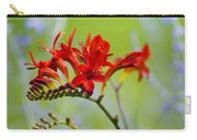 Lucifer Crocosima Flowers Carry-all Pouch