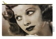 Lucille Ball By Mary Bassett Carry-all Pouch