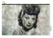 Lucille Ball Vintage Hollywood Actress Carry-all Pouch