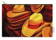 Luckenbach Hats Hdr Carry-all Pouch