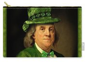 Lucky Ben Franklin In Green Carry-all Pouch