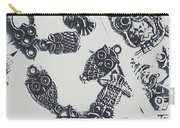 Lucky Charms Of Wise Old Owls Carry-all Pouch
