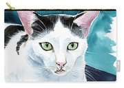 Lucky Elvis - Cat Portrait Carry-all Pouch