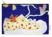 Lucky Lady Bug Shoe Carry-all Pouch