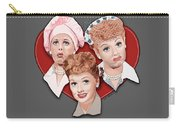 Lucy Expressions Gry Carry-all Pouch
