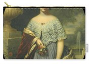 Lucy Tappan Bowen. Mrs Henry C Bowen Carry-all Pouch