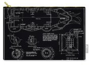 Lucy The Elephant Building Patent Blueprint 3 Carry-all Pouch