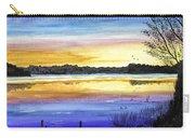 Ludington Sunrise Painting Carry-all Pouch