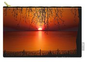 Ludington Sunset April 2016 Carry-all Pouch