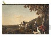 Ludolph De Jongh And Joris Van Der Hagen 1616 Rotterdam - Hillegersberg 1679 Or 1615 Hunting Party A Carry-all Pouch