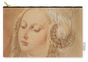 Ludwig Emil Grimm, Potrait Of Hedwig Von Munchhausen, Later Von Scholley Carry-all Pouch
