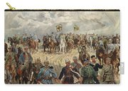 Ludwig Koch, Franz Josef I And Wilhelm II With Military Commanders During Wwi Carry-all Pouch