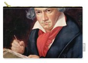 Ludwig Van Beethoven Composing His Missa Solemnis Carry-all Pouch