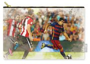 Luis Suarez Takes The Ball Past Athletic Bilbao's Eneko Boveda A Carry-all Pouch
