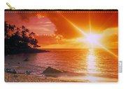 Lumahai Beach Sunset Carry-all Pouch