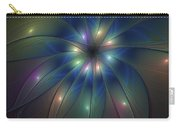 Luminous Fractal Art Carry-all Pouch