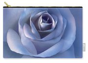 Luminous Lavender Rose Flower Carry-all Pouch