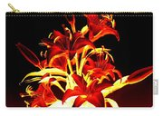 Luminous Lilies Carry-all Pouch