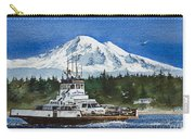 Lummi Island Ferry And Mt Baker Carry-all Pouch