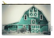 Luna Barn Teal Carry-all Pouch