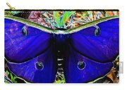 Luna Moth Uv Pano Carry-all Pouch