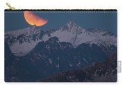 Lunar Eclipse In Lofoten Carry-all Pouch