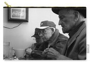 Lunch Counter Boys - Black And White Carry-all Pouch