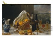 Luncheon Still Life, At And By John F. Francis Carry-all Pouch