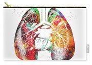 Lungs And Heart Carry-all Pouch