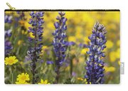 Lupin And Daisies Carry-all Pouch
