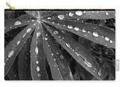 Lupin Leaves With Rain Drops  Carry-all Pouch
