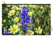 Lupine Amidst Tidy Tips Carry-all Pouch