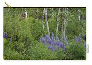 Lupine And Aspens Carry-all Pouch