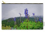 Lupine And Mountains Carry-all Pouch