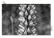 Lupine In Black And White Carry-all Pouch