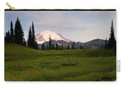 Lupine Sunrise Carry-all Pouch by Mike  Dawson