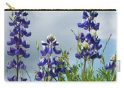Lupines Against The Sky Carry-all Pouch