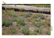 Lupines And A Log Carry-all Pouch