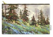 Lupines And Bluebells Carry-all Pouch