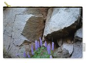 Lupines And Rock Face Carry-all Pouch