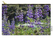 Lupines At The River Carry-all Pouch
